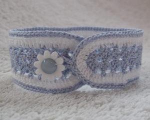 Fan Crochet Bracelet