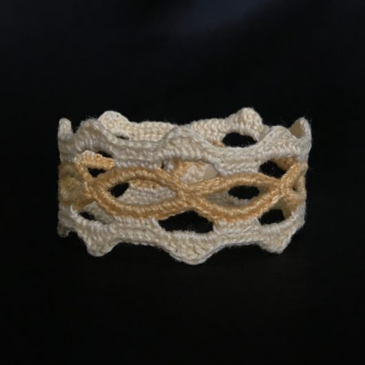 2 tone yellow bracelet