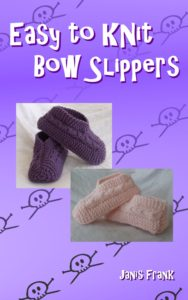 Easy to Knit Bow Slippers
