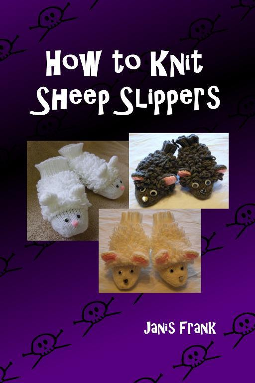 How to knit sheep slippers for adults