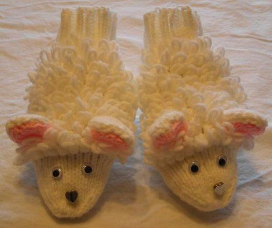 Sheep Slippers