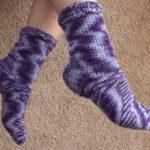 Hand Knitted Socks - Free Pattern