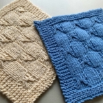 Super Cute Hand Knit Bows Dishcloths – FREE Shipping!