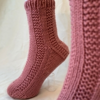 Hand Knit Socks – FREE Shipping!