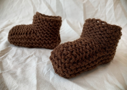 FREE Knitted Slipper Pattern for Children