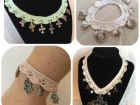 How to crochet jewelry