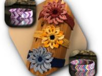 Crochet Jewelry - Flower and Friendship Bracelet
